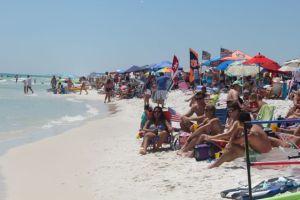 Grayton Beach-Too crowded