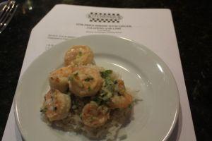 Stir Fried shrimp with Ginger, Jalapeno & Lime