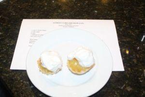 Lemon Curd Tart (microwave)