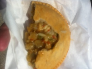 Crawfish Pie unroofed