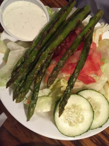 JK's Salad with Asparagus