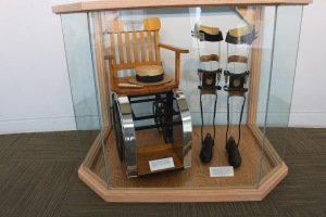 FDR's wheelchair & braces