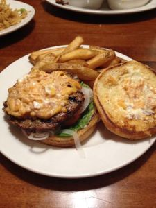 Bacon Pimento Cheese Burger
