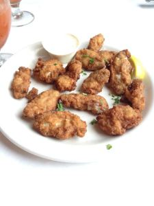Fried (fresh) Apalachicola Oysters
